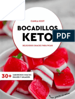 Bocadillos-Keto