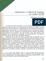 Primitivismo e a Ciência Do Homem No Século XVIII H Clastres