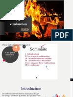 La combustion projet