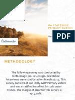 GA Primary Survey March 2021