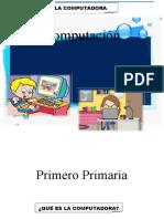 Computacion para Primero Primaria