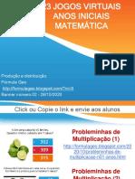 23 Jogos Anos Iniciais Matemática