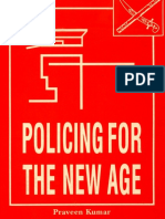 POLICING FOR THE NEW AGE - Ensemble of articles on police and policing in India