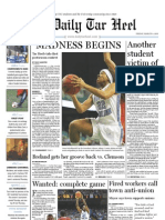 The Daily Tar Heel for March 4, 2011