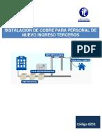 Planeación Didactica-6252 INSTALACION DE COBRE PARA PERSONAL DE NUEVO INGRESO TERCEROS