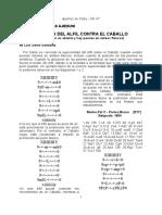 Ajedrez en Cuba -Alfil vs Caballo