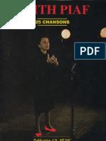 Edith Piaf - 25 Chansons