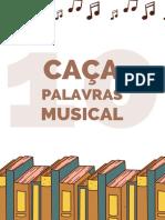 2 Ed. Caça-Palavras Musical