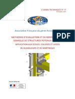 AFPS_Cahier_technique_2014_33 Renforcement de Poteau Poutre Sous Séisme