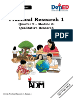 SHS Applied PracticalResearch12 Q2 Mod3 QualitativeResearch