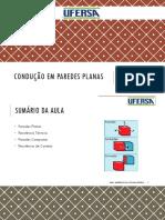 03 - CONDUÇÃO EM PAREDES PLANAS