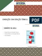 05 - CONDUÇÃO COM GERAÇÃO TÉRMICA