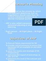 Human Resource Planning PROJECT