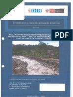 6665 Evaluacion de Riesgos Por Inundacion Fluvial en La Localidad de Sivia Sector Rio Sivia Mayo Distrito de Sivia Provincia de Huanta Ayacucho