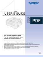 Brother HL_2140 Wireless Printer Manual