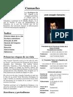 José Joaquín Camacho - Wikipedia, La Enciclopedia Libre