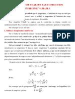 Cour N°2 Conduction en régime variable.