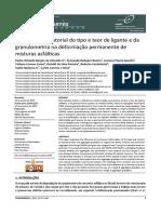 Almeida Jr et al_2018_Avaliacao do tipo e teor de ligante e granulometria na deform permanente