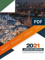 Lista Precios Proeléctrico 2021