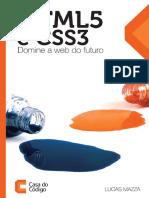 Html5 e Css3 Domine a Web Do Futuro - Casa Do Codigo
