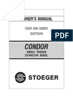 Stoeger Condor Over-Under Shotgun Manual