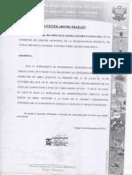 3.1 Inspector de Obra - Churo 1, Reservorio Pampilla