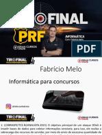 Tiro Final PRF - FABRICIO MELO