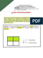 Guía 2do Fraccionarios