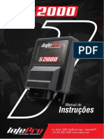 Manual Injepro - S2000