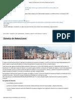 Tarifas Reteica Bogota 2020