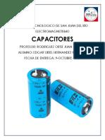 Capacitores- Edgar Uriel Hernández Martínez