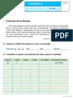 Exercícios Gramaticais - Sílabas
