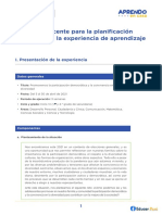 Guía Docente Para La Planificación Curricular en La Escuela Ccesa007