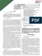 D.S. Nº 006-2021-MINEDU Los Lineamientos Para La Gestion Ccesa007