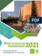 Portafolio de Programas Vie 2021-2