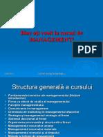 1. Management Prezentare PPT Curs-1
