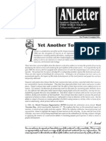 ANLetter Volume 6 Issue 2-Aug 1998-EQUATIONS