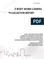 BWC Evaluation Final Report