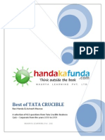 Handa Ka Funda - Best of Tata Crucible