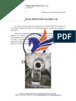 Informe Inspeccion Caldera 105