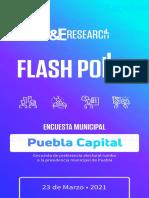 Flash Polls 2021 Puebla Marzo 2021