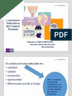 Contenidos Educativos Del Control Prenatal