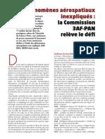 Nexus 59 - Phénomènes aérospatiaux inexpliqués - La commission 3AF-PAN relève le défi