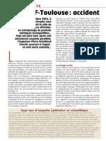 Nexus 62 - AZF Toulouse - Accident et secret d'État (mai 2009)