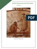 1. Primeras Vísperas Dominica XXIII Post Pentecostes III. Novembris