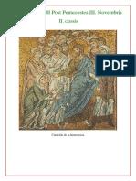 2. Maitines y Laudes Dominica XXIII Post Pentecostes III. Novembris