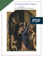 2. Nona In Purificatione Beatæ Mariæ Virginis ~ II. classis