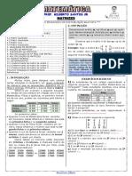 Apostila de Matrizes (12 páginas, 66 questões, com gabarito)