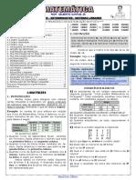 Apostila de Matrizes, Det e S.L. (11 páginas, 42 questões, DE VÍDEO) 2020