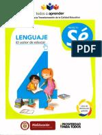 4° Lenguaje Texto Estudiante Proyecto Sé